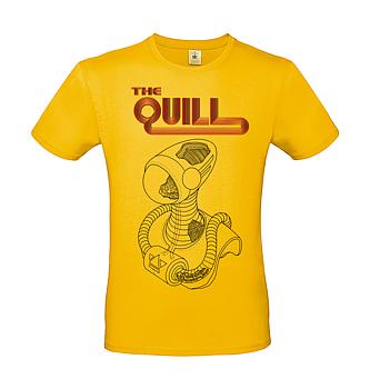 THE QUILL - T-SHIRT, ALIEN (GOLD)