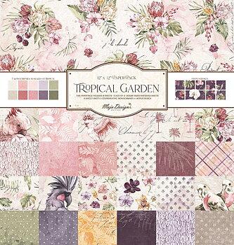 MAJA DESIGN - TROPICAL GARDEN-12x12 Collection Pack