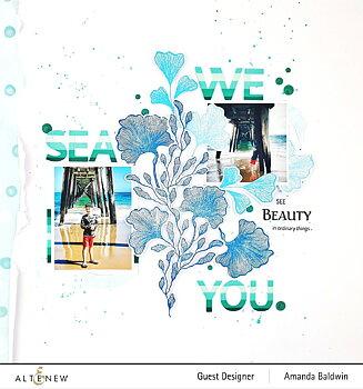 ALTENEW -Enchanting Beauty Stamp Set