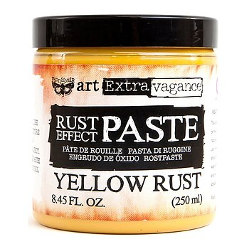 Finnabair Art Extravagence Rust Effect Paste  -  Yellow Rust