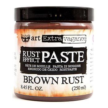 Finnabair Art Extravagence Rust Effect Paste  -  Brown Rust