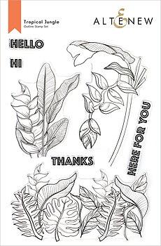 ALTENEW -Tropical Jungle Stamp Set