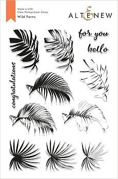 ALTENEW -Wild Ferns Stamp Set