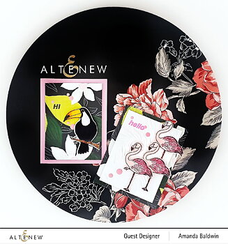 ALTENEW -Poised Flamingo Stamp Set