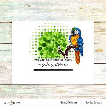 ALTENEW -Exotic Parrot Stamp Set