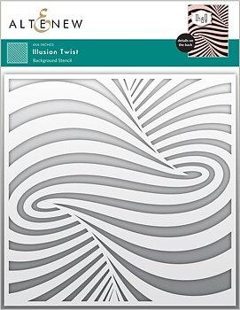 ALTENEW -Illusion Twist Stencil
