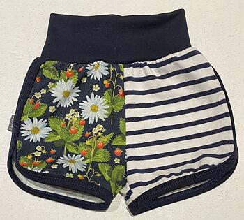 Tuffis-shorts Smultron & Prästkrage, 68,