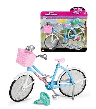 Judith cykel med ljus och hjälm