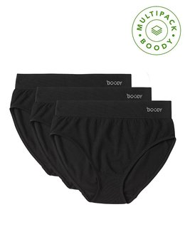3-pack Trosor - Full Briefs - Boody Bamboo Eco Wear - EKO - Svart