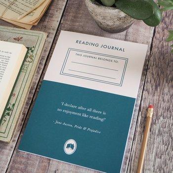 Literary Emporium : Reading Journal A5