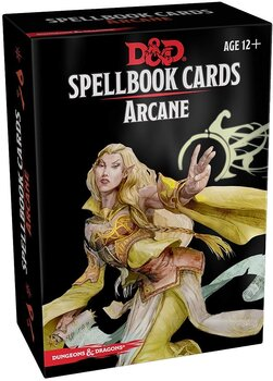 Dungeons & Dragons -  Spellbook Cards - Arcane (257 Cards)