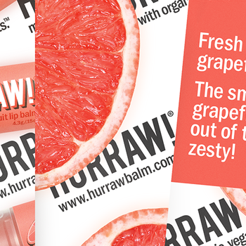 HURRAW! Grapefruit Lip Balm