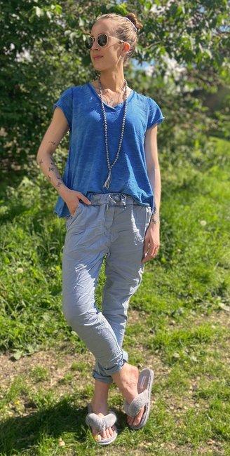 T-shirt One | Koboltblå