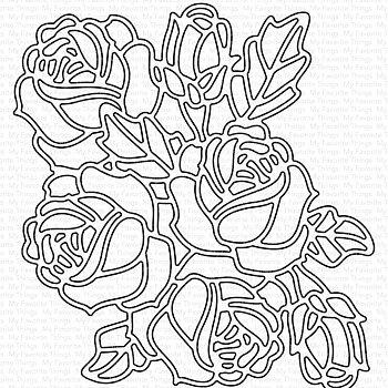 Graphic Roses Die-namics