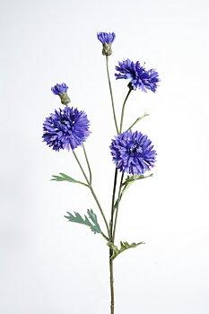 Blåklint på kvist H65cm Konstväxt