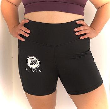 Spartan Hot pant BASIC/Black