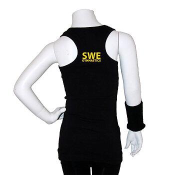 Singlett med bryter-rrygg, SWE Gymnastics