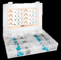 RUCK® AVLASTNING Smartgel plug+switch, testlåda