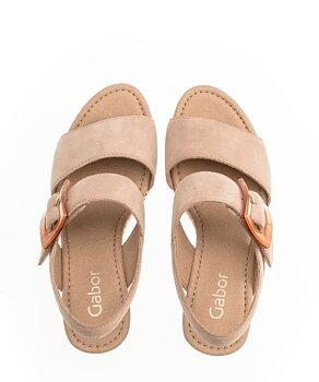 Gabor Fashion Sandalett Caramel Beige