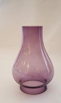 Lantern glass violet 1960s