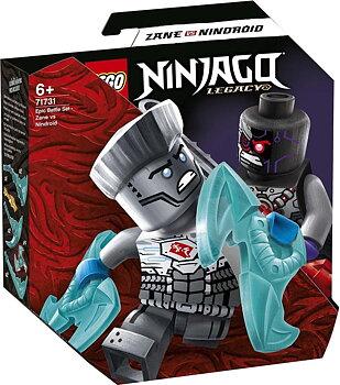 Lego Ninjago Zane vs Nindroid