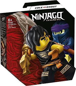 Lego Ninjago Cole vs Spökkrigare
