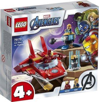 Lego Marvel Iron Man vs Thanos