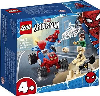 Lego Spiderman vs Sandman
