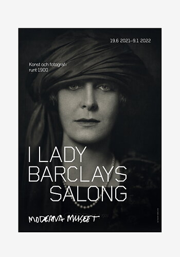Poster, Henry B. Goodwin, Lady Barclay
