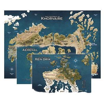 D&D - Eberron - Rising from the Last War Map Set