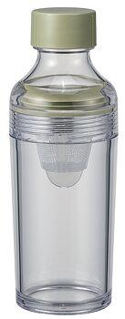 Teflaska, Filter-in Bottle Portable Smokey Green från Hario