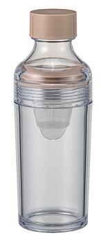 Teflaska, Filter-in Bottle Portable Smokey Pink från Hario
