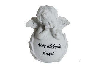 Gravdekoration Älskade Ängel H10cm