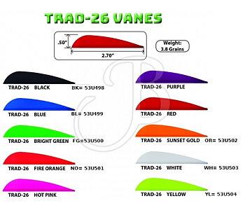 """AAE Trad Vanes 3"""""""