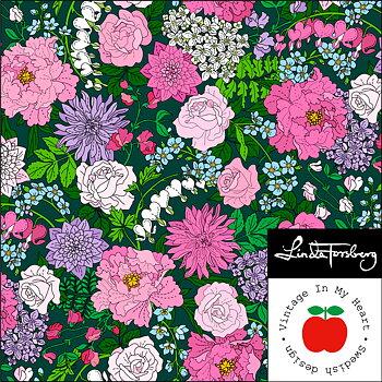 GardenTimes Green - Jerseyfabric