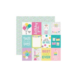 """Simple Stories - Magical Birthday - 3""""X4"""" Elements"""