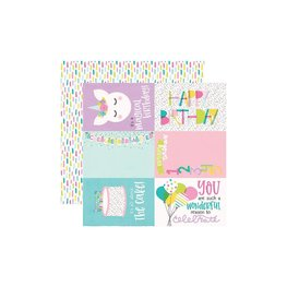 """Simple Stories - Magical Birthday - 4""""X6"""" Elements"""