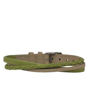 Arock  felix armband grön beige vegansk