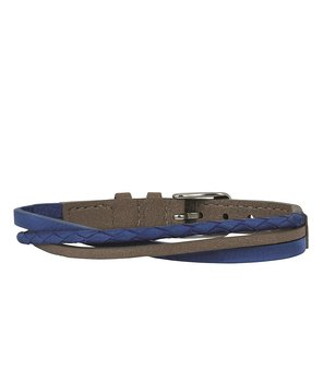 Arock Felix armband blått/beige veganskt