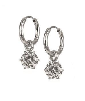 Astrid och Agnes Nova crystal örhänge stål