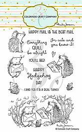 Colorado Craft - Hedgehog Day - Clearstamps