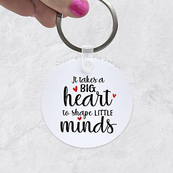 Avaimenperä 5cm - BIg heart
