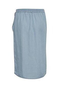 Cream Falusa Skirt Soft Blue Denim