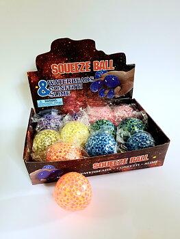 Klämboll / Stressboll, squeeze ball (olika färger)