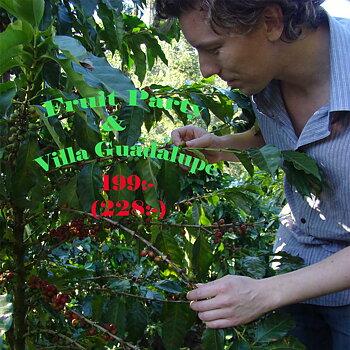 Sandby Kafferosteri - Villa Guadalupe & Fruit Party - Mellanrostade hela kaffebönor - 2x250g