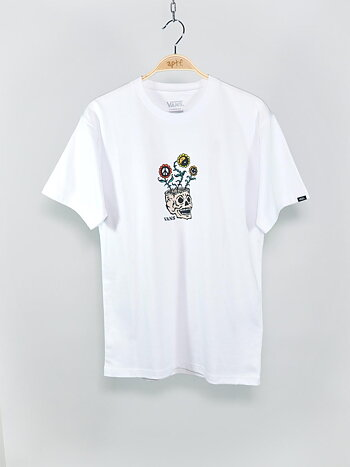 Vans - Sprouting Tee White
