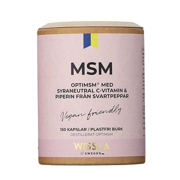Wissla - MSM + C-vitamin + Piperin