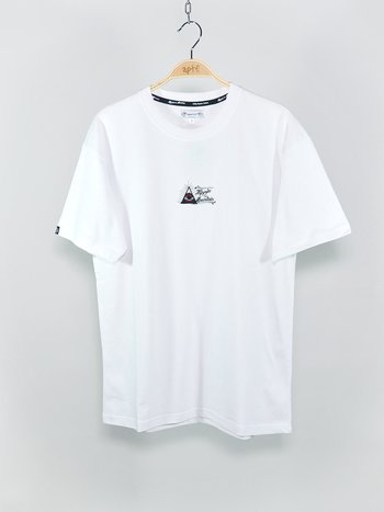 Appertiff - Organic Hippies Of The Mountain Embroidery Tee White