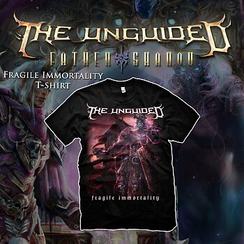 THE UNGUIDED - T-SHIRT, FRAGILE IMMORTALITY COVER