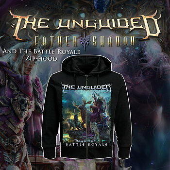 THE UNGUIDED - ZIP-HOOD, AND THE BATTLE ROYALE COVER
